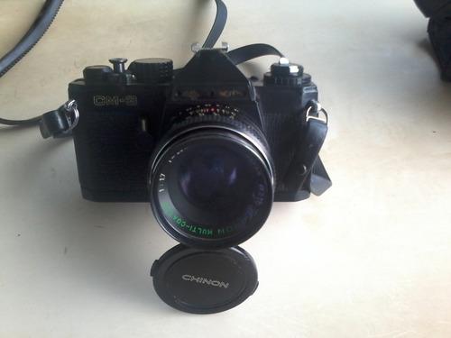 cámara fotográfica marca chinon profesional mod. cm-3