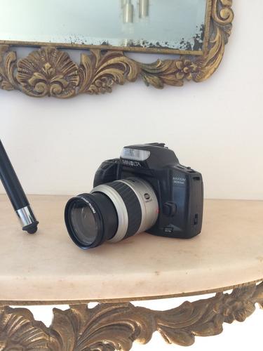 cámara fotográfica minolta