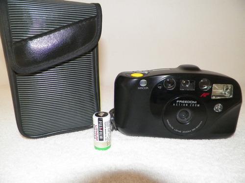 camara fotografica minolta modelo action  zoom poco uso