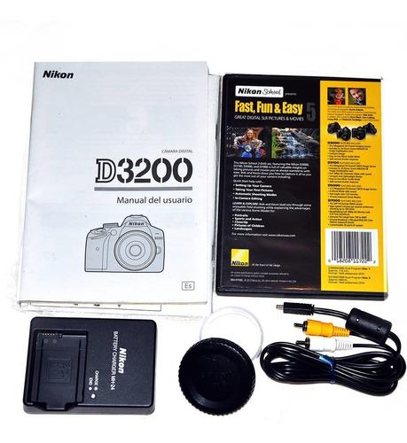 cámara fotográfica nikon d3200