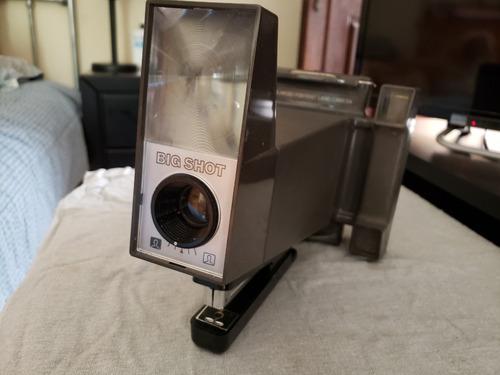 cámara fotográfica polaroid big shot vintage años 70.