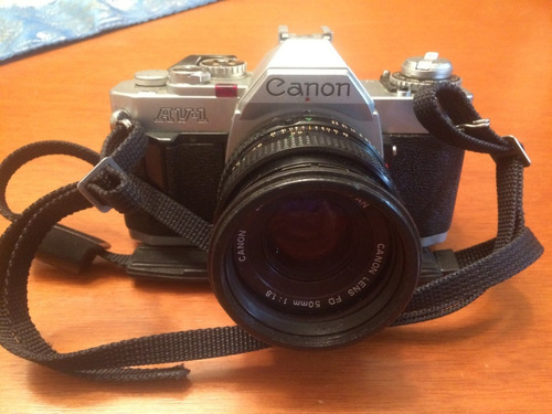 camara fotografica profesional canon av-1