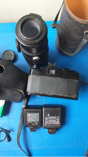 cámara fotográfica profesional convencional chinon ce ii m