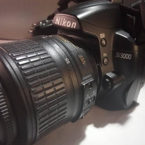 cámara fotográfica profesional  nikon d3000