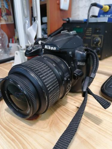 cámara fotográfica profesional nikon d5000.