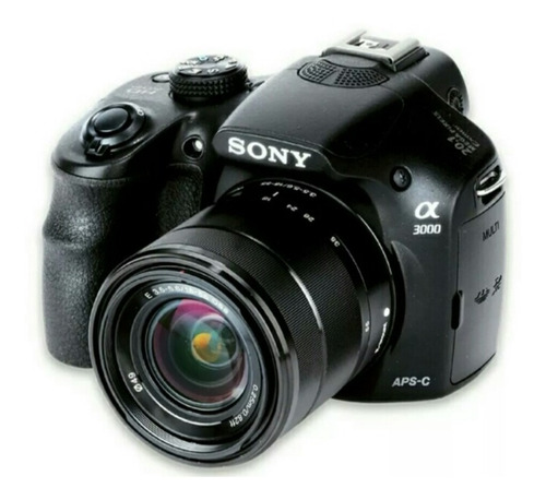 cámara fotográfica sony alpha 3000
