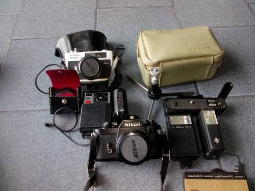 camara fotograficas minolta ricoh 500 nikon, hawkeye istamat