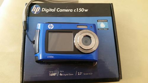 cámara fotos sumergible 3 metros hp c150w  para reparar