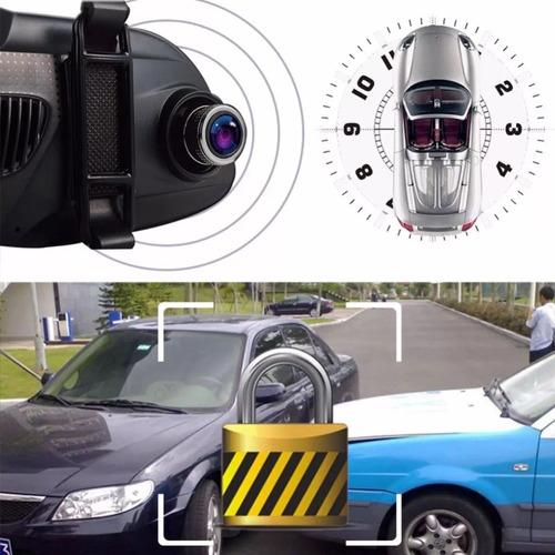 camara frontal auto espejo hd retrovisor sd estacionamiento