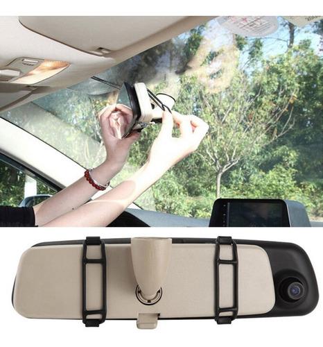 cámara frontal y trasera auto espejo retrovisor full hd