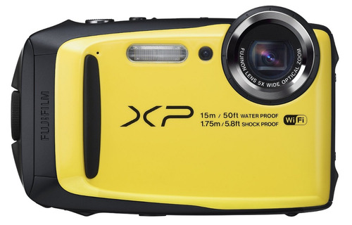 cámara fuji xp90 16mpx acuatica sumergible uso rudo wifi msi