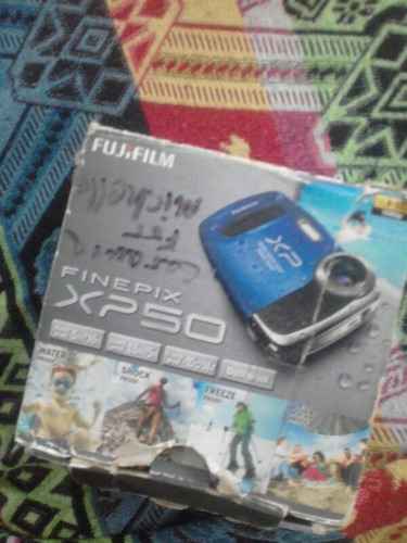 camara fujifilim finepix xp50
