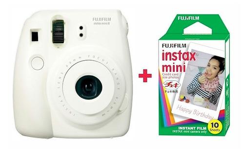 camara fujifilm instax 8 + 1 cartucho de 10 fotos de regalo!