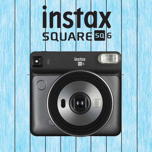 camara fujifilm instax square sq6 + 20 filminas - inteldeals