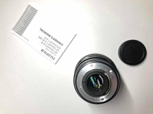 cámara fujifilm x t2 negra + lente fujinon xf16mm f14r