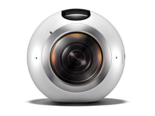 cámara gear 360 blanca