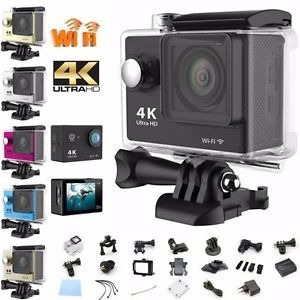 camara go pro acción 4k 16 mp wifi acuatico deportes videos