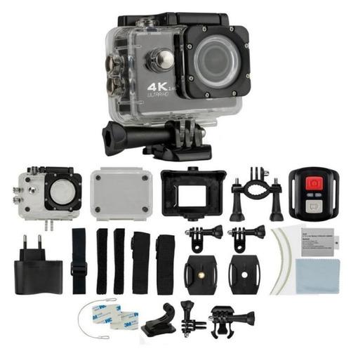 camara go pro accion 4k wifi ultra hd + control, accesorios