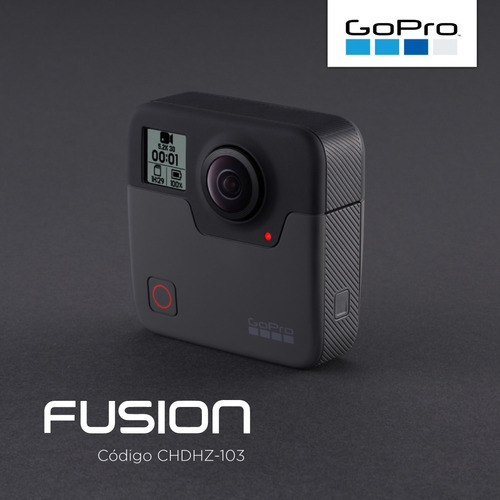 camara go pro fusion 360 5.2k sumergible overcapture pce