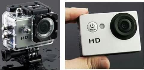 camara go pro sumergible en el agua 5mp hd