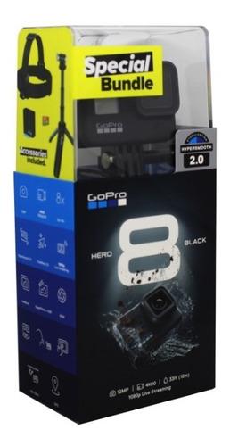 cámara gopro 8 black special bundle hypersmooth 2.0