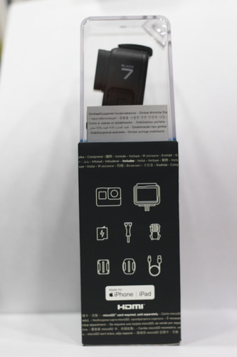 cámara gopro go pro hero 7 black +micro 32gb + bateria selfi