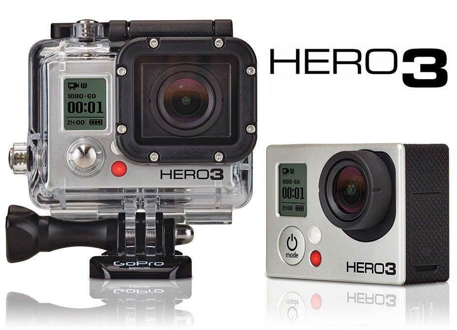 c mara gopro hero 3 silver edition 1080p 11mpx hasta 60m. Black Bedroom Furniture Sets. Home Design Ideas