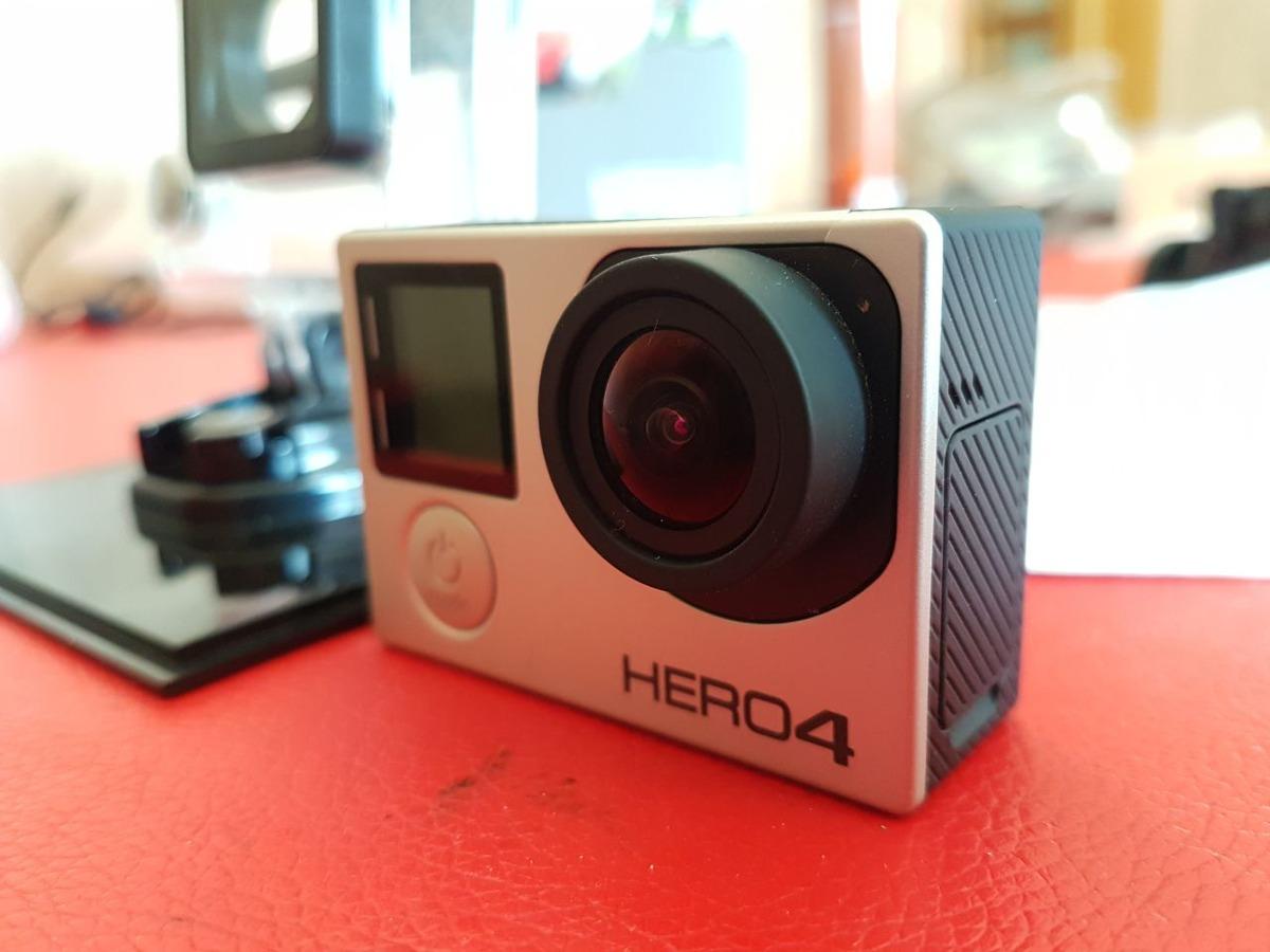 Camara Gopro Hero 4 Silver Excelente Estado - $ 7.500,00 en Mercado ...