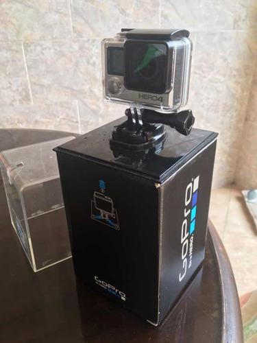 cámara gopro hero 4 silver waterproof con accesorios