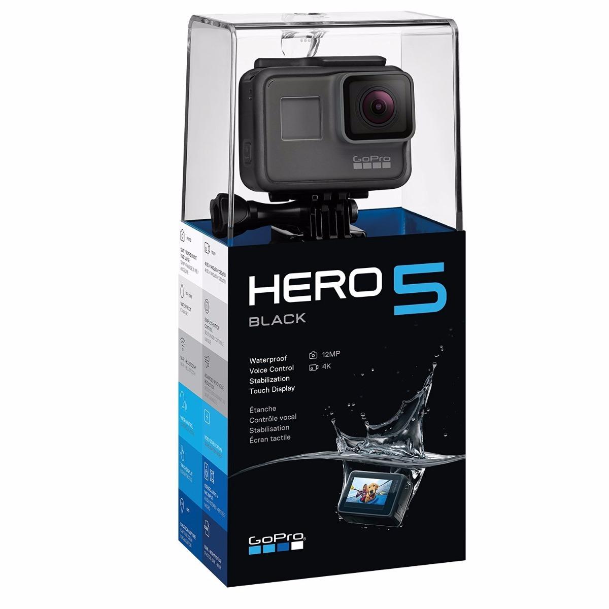 Camara Gopro Hero 5 Black 4k + Memoria Proplus 600x 64gb - $ 8.469 ...