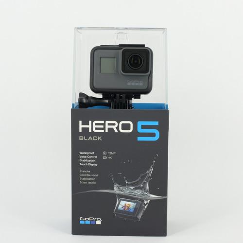 camara gopro hero 5 black 4k uhd+ microsd 64gb u3 4k