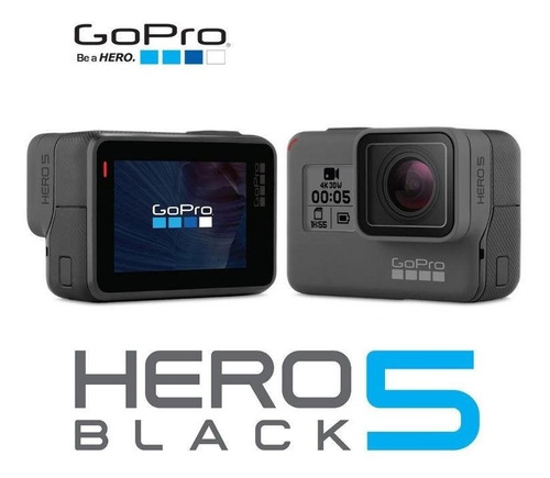 camara gopro hero 5 black + memoria 16gb + obsequio