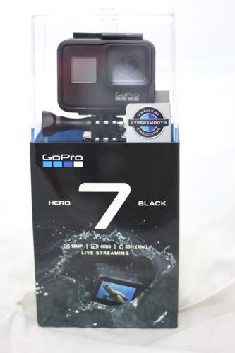 camara gopro hero 7 black 12mpx video 4k 60 transmision vivo