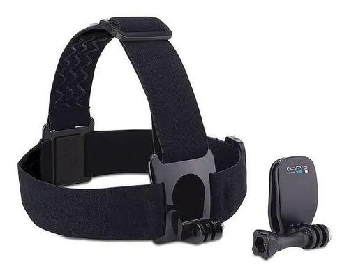 cámara gopro hero 7 black + cargador doble + arnes p/ cabeza