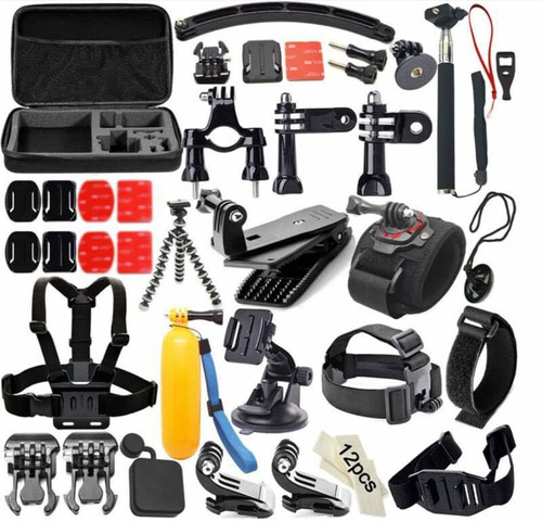 camara gopro héro 7 black go pro hero7 +32gb +kit accesorios