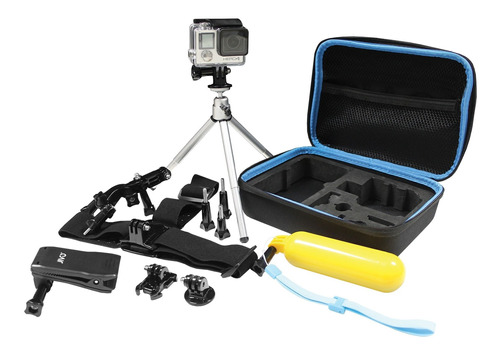 cámara gopro hero 7 black + kit gogear + sd 32gb