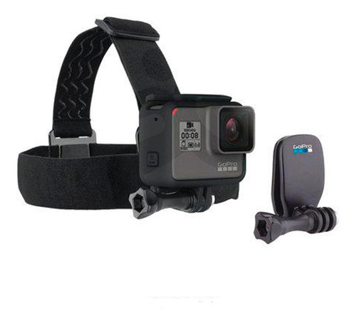 cámara gopro hero 8 black + gopro head strap + quickclip
