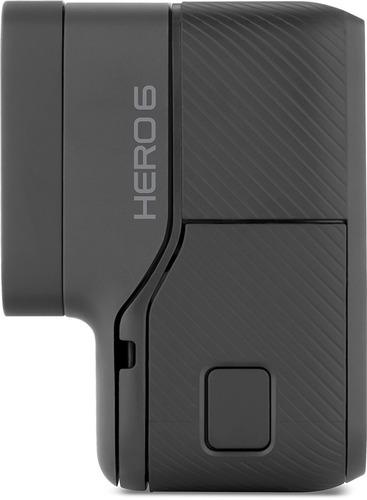 cámara gopro hero6 black 4k uhd 60fps 128gb contra agua