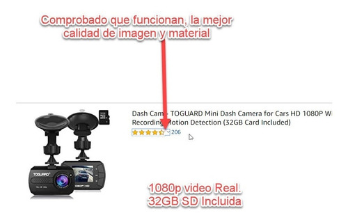 camara grabacion vehiculo video full hd *entrega gratis gam*