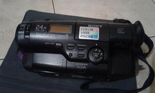 camara handycam marca sony filmadora casette