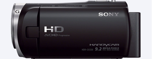camara handycam sony hdr-cx330 wifi nfc 60x zoom full hd