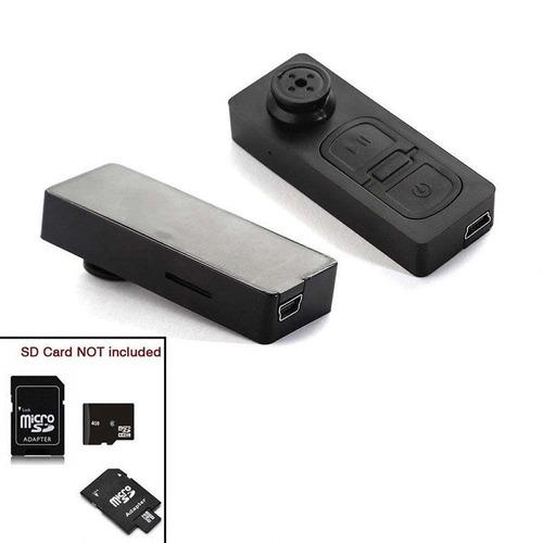 camara hd boton espia usb graba audio video 16gb recargable