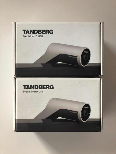 cámara hd cisco tandberg en caja original y accesorios