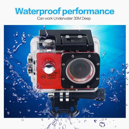 camara helmet sports 30m waterproof car camera wifi cam us