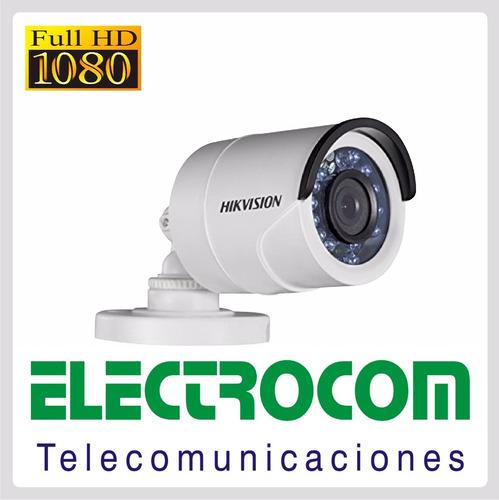cámara hikvision bullet full hd 1080 2 mp  ext.  electrocom