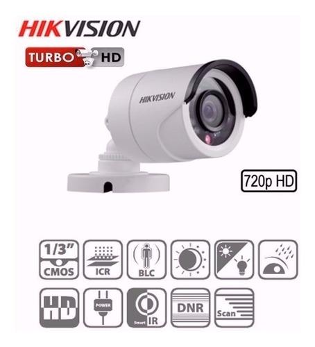 camara hikvision bullet hd para exterior con infra 20 metros