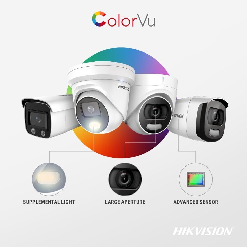Camara Hikvision Colorvu 5 Megapixeles A Color Dia Y Noche - U$S 104,99 en  Mercado Libre