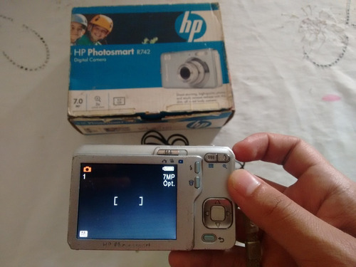 camara hp photosmart r742 para respuesto
