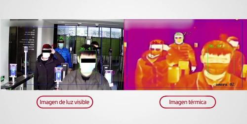 cámara hv termográfica detección de fiebre ds-2td2617b-6/pa