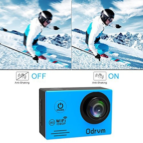 cámara impermeable de la cámara de la acción de wifi - c
